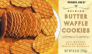 Trader Joe's Belgian Butter Waffle Cookies