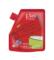 Ella's Kitchen® Organic wakey wakey mango, banana + strawberry baby cereal