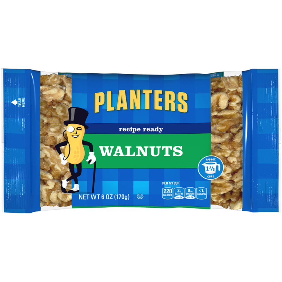 Planters Halves Walnuts Bag