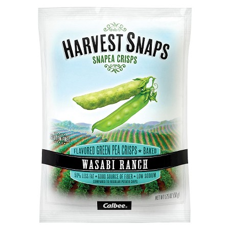 Calbee Harvest Snaps Wasabi Ranch Snapea Crisps