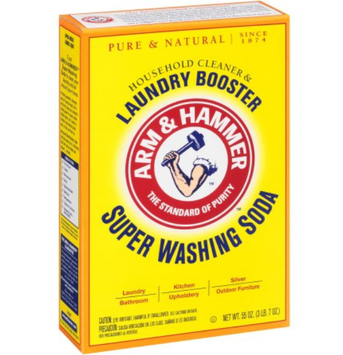 ARM & HAMMER™ Super Washing Soda Detergent Booster