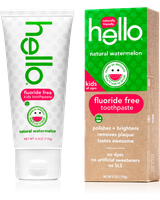 Hello Kids Fluoride Free Toothpaste Natural Watermelon