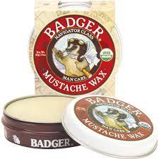 Badger Balm Mustache Wax - Navigator Class Man Care