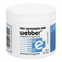 Webber Vitamin E First Aid Cream