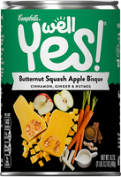 Campbell's® Well Yes! Butternut Squash Apple Bisque Soup