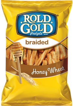Rold Gold® Honey Wheat Braidede Pretzels Twists