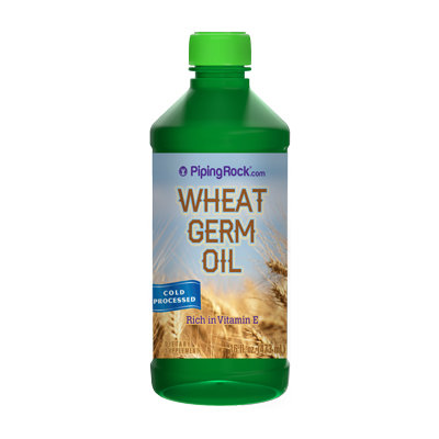 Piping Rock Wheat Germ Oil 16oz Cold Pressed