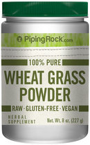 Piping Rock Wheat Grass Powder 8 oz (227g)
