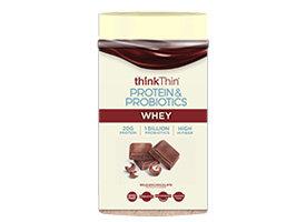 thinkThin Protein & Probiotics Belgian Chocolate Whey Protein