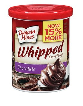Duncan Hines Whipped Chocolate Frosting
