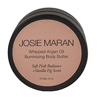 Josie Maran Whipped Argan Oil Illuminating Body Butter Golden Opal Radiance + Vanilla Peach Scent