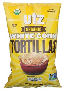 Utz Organic White Corn Tortillas