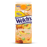 Welch's® White Grape Peach Refrigerated Cocktail