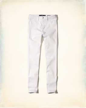 Hollister White High-Rise Jean Leggings