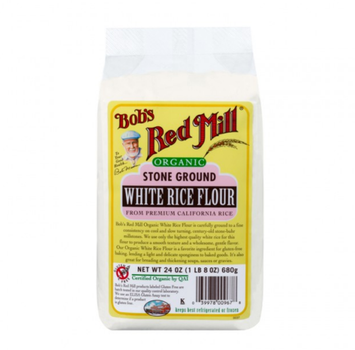 Bob's Red Mill Organic Stone Ground White Rice Flour