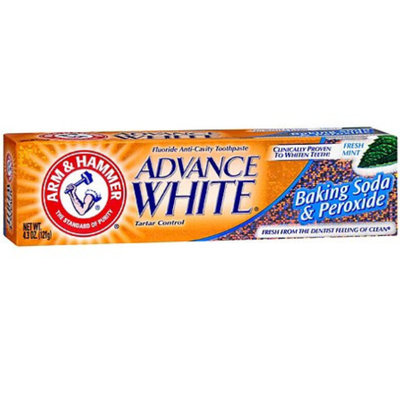 ARM & HAMMER™  Dental Care Advance White Extreme Whitening Baking Soda & Peroxide Toothpaste,Fresh Mint