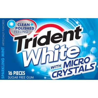 Trident White Microcrystals Gum
