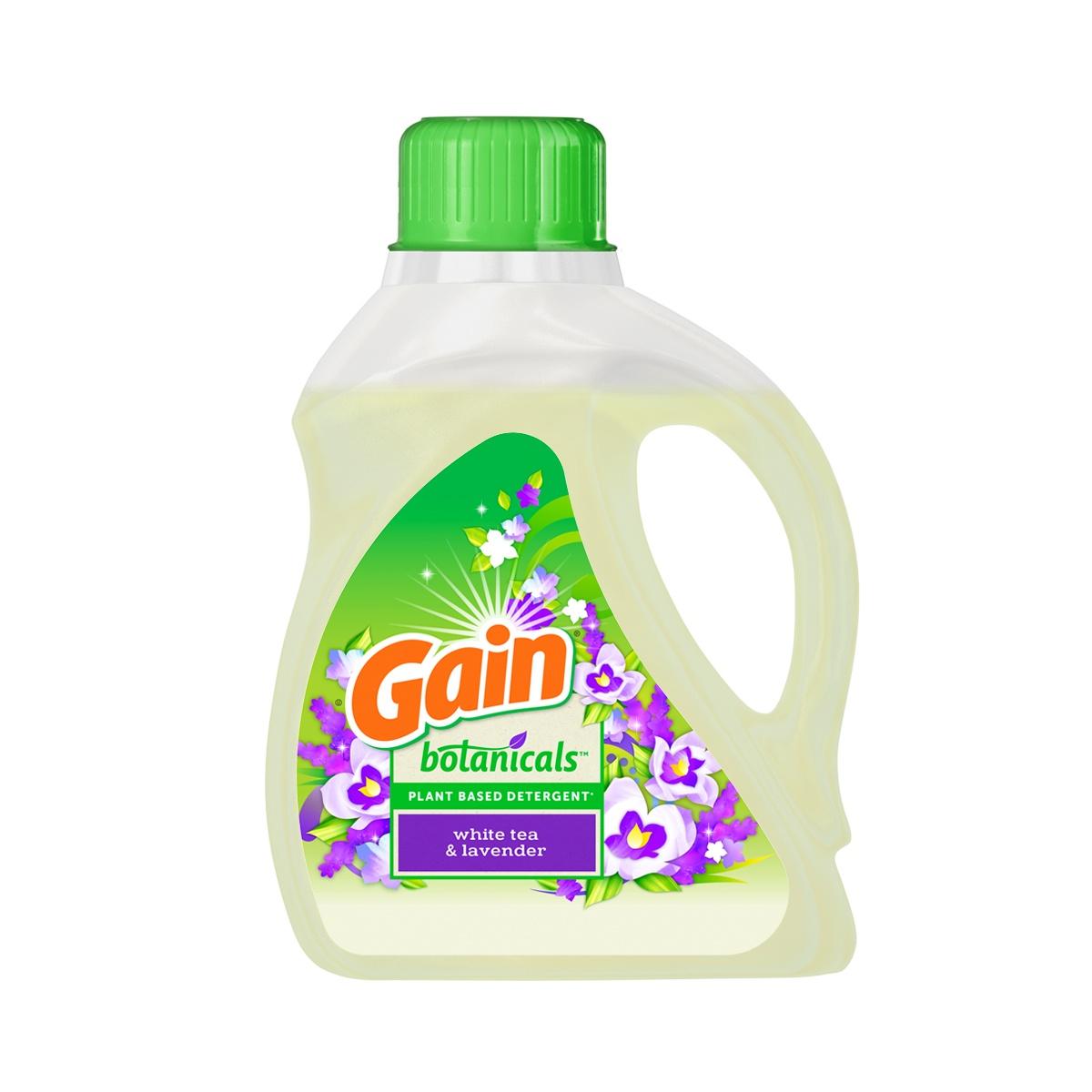 Gain® Botanicals™ White Tea Lavender Liquid Laundry Detergent