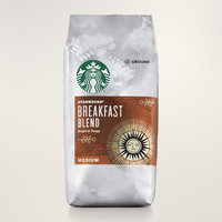 Starbucks® Breakfast Blend Medium Roast Ground Coffee