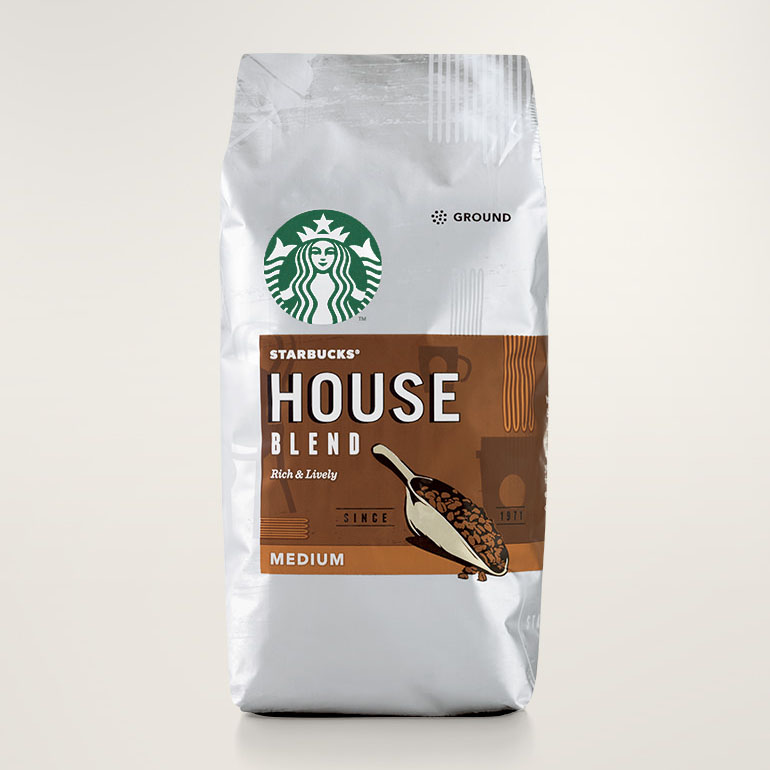 STARBUCKS® House Blend Rich & Lively Ground