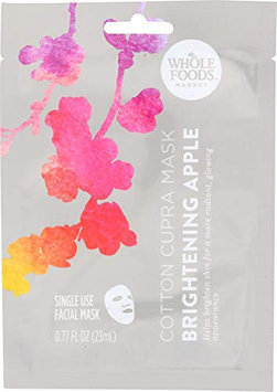 WHOLE FOODS™ Market Cotton Cupra Facial Mask Brightening Apple