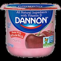 Dannon® Whole Milk Yogurt Cherry