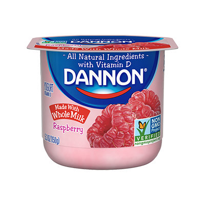 Dannon® Whole Milk Yogurt Raspberry