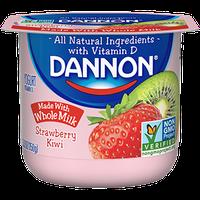 Dannon® Whole Milk Yogurt Strawberry Kiwi