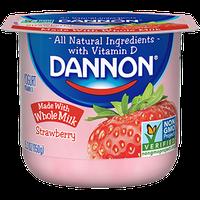 Dannon® Whole Milk Yogurt Strawberry
