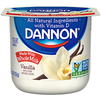Dannon® Whole Milk Yogurt Vanilla