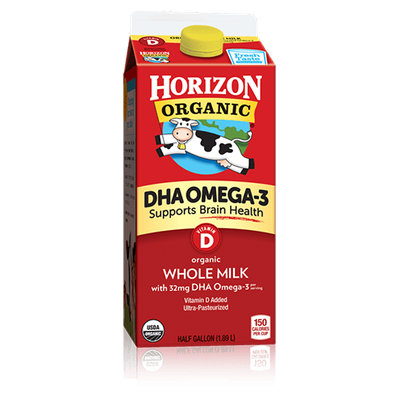 Organic Milk with DHA Omega-3