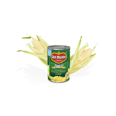 Del Monte® Whole Kernel Sweet Gold and White Corn