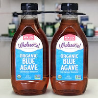 Wholesome Sweeteners Organic Blue Agave Nectar, 36 oz