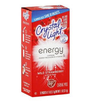 Crystal Light Energy On The Go Wild Strawberry Drink Mix