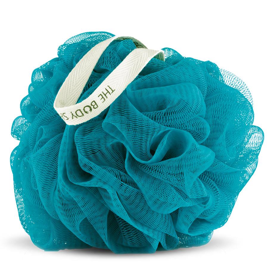 THE BODY SHOP® Wild Argan Oil Bath Luffa Teal Blue