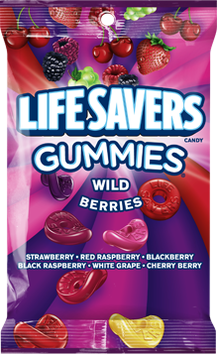Life Savers Candy Wild Berry Sours