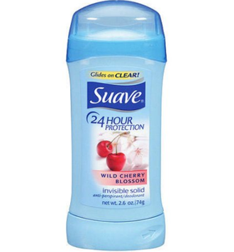 Suave® 24 Hour Protection Wild Cherry Blossom Invisible Solid Anti-Perspirant Deodorant