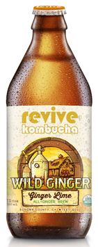 revive kombucha Wild Ginger Brew