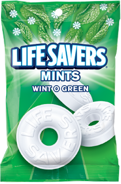 Life Savers Holiday Wint-O-Green Candy Mints