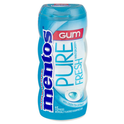 mentos Pure Fresh Wintergreen-Pocket Bottle