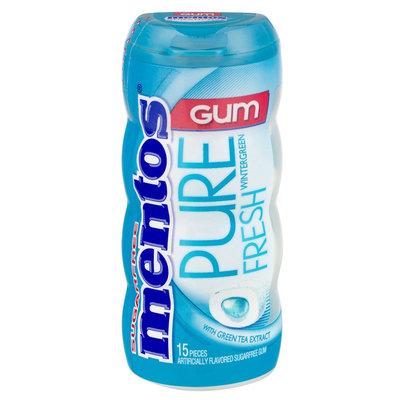 mentos Pure Fresh Wintergreen-Pocket Bottle