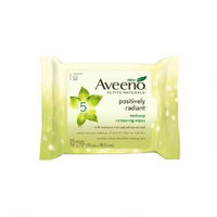 Aveeno® Active Naturals Positively Radiant Makeup Removing Wipes