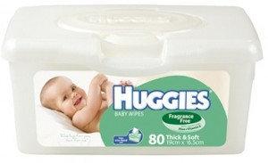 Huggies® Baby Wipes Fragrance Free