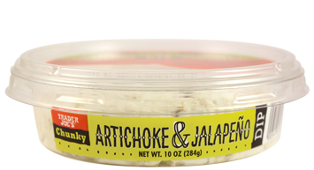 Trader Joe's Chunky Artichoke & Jalapeño Dip