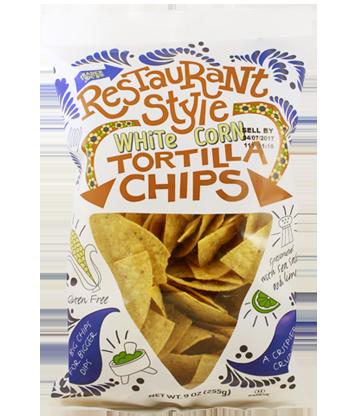Trader Joe's Restaurant Style White Corn Tortilla Chips