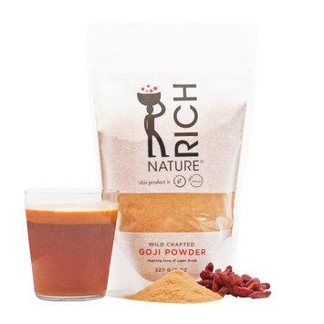 Rich Nature 100 Natural Gluten Free Goji Powder (8 Oz)