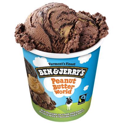 Ben & Jerry's® Peanut Butter World Ice Cream