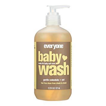 Eo Products Baby Wash Calendula Oat EO 12.75 oz Liquid