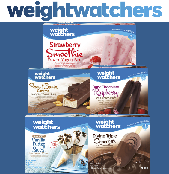 Weight Watchers® Ice Cream Products