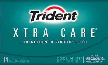 Trident Xtra Care® Cool Mint® Gum